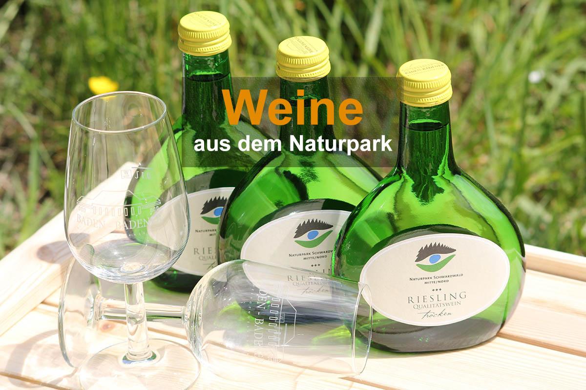 Naturpark-Weine und Sekt